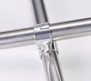 Cross Metal Joint for Lean Production Shelf pictures & photos