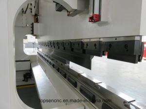 New Design Electro-Hydraulic Synchonously CNC Press Brake with 4+1 Axes Cybelec CT12 Controller pictures & photos