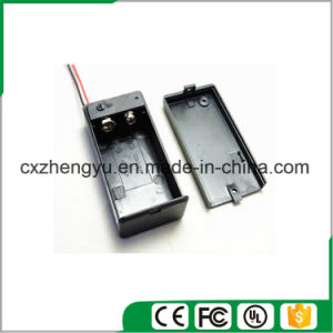 9V Battery Holder with Red/Black Wire Leads pictures & photos