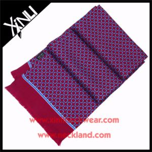 High Fashion 14mm Twill Printed Silk Scarf with Tassel pictures & photos