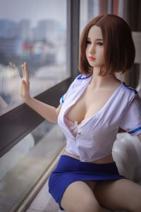 Sex Product 165cm Full Soft Silicone Doll for Man with C-Cup Boobs pictures & photos