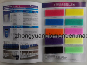 Dye for Polyurethane Flexible Foam Sponge Tdi Mdi Polyether Mattress pictures & photos