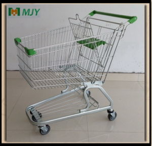 125 Liters Germany Supermarket Shopping Trolley Mjy-125D2 pictures & photos