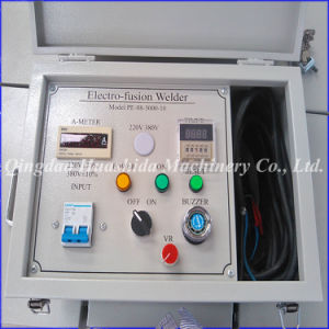 Plastic Hot Melt Pipe Welding Machine Electric Fusion Welder pictures & photos