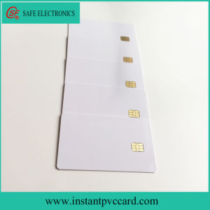 Hot Selling Double Sides Printable Inkjet Smart 4442 IC Card pictures & photos