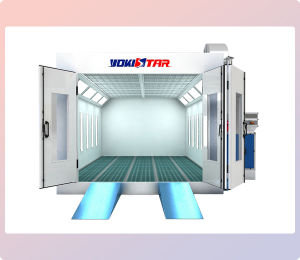 Motorcycle Paint Booth Durable Downdraft Booth pictures & photos