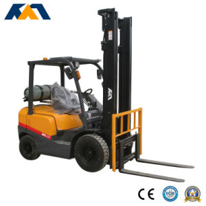 3.5 Ton LPG Dual Fuel Forklift Truck for Sale pictures & photos