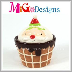 Hot Selling Ceramic Decoration Cup Cake Coin Box pictures & photos