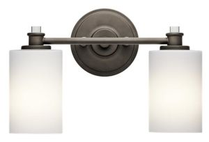 2 Lite Modern White Glass Bath Light with UL ETL Certificate pictures & photos