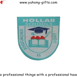 Fabric Label Badge for College Uniform (YH-WB115) pictures & photos