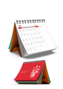 High Quality Customized Full Color Desk Calendar for Stationery, Office Supply pictures & photos