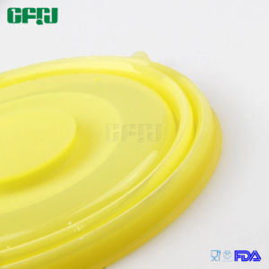 Silicone Kitchenware China Supplier Heat Resistant Collapsible Silicone Pot Cover pictures & photos