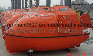 5.25m Solas Marine FRP Totally Enclosed Life Boat for Lifesaving pictures & photos