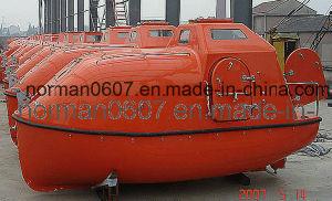 5.25m Solas Marine FRP Totally Enclosed Life Boat for Lifesaving