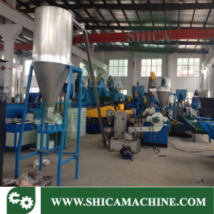 Water-Cooled Brace Granulating Plastic Extrusion Granulator Unit pictures & photos