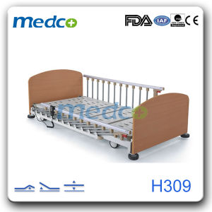 Mobile Home Nursing Furniture, Three Function Electric Home Care Hospital Bed pictures & photos