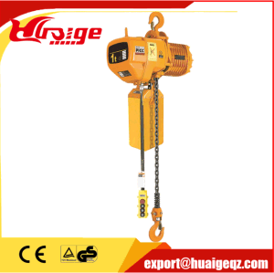 1ton Electric Chain Hoist with Hook pictures & photos
