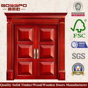 Front Entrance Door Simple Exterior Wood Door (XS1-024) pictures & photos