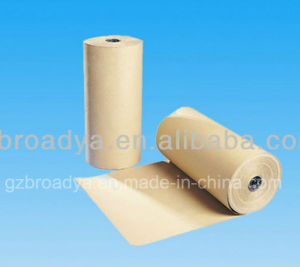 Direct Sale Brown Craft Kraft Paper Jumbo Roll Manufacturer pictures & photos