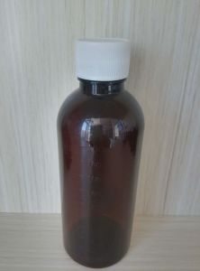 Round Pet Bottle for Liquid Medicine Plastic Packaging pictures & photos