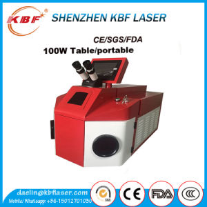 80W Laser Welding Machine for Jewelry with Air Cooling pictures & photos