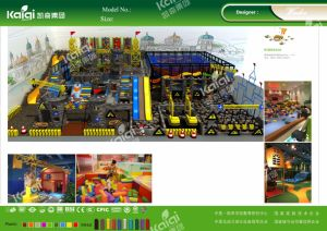 Kaiqi Large Qualified and Customized Construction Theme Indoor Playground pictures & photos