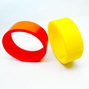 Fashion smart RFID silicone MIFARE Plus S 2K wristband bracelet pictures & photos