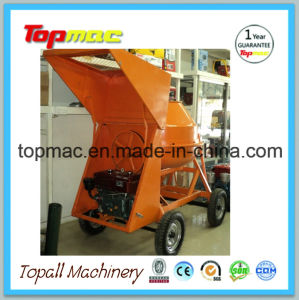Used Portable Cement Mixer Mixing Concrete in a Cement Mixer pictures & photos