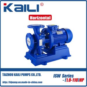 ISW Series Horizontal Pipeline Centrifugal Water Pump(outlet25-40mm) pictures & photos