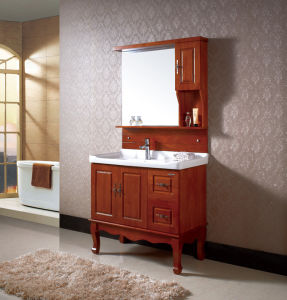 Floor Mounted Bathroom Furinture Ceramic Bathroom Cabinet pictures & photos