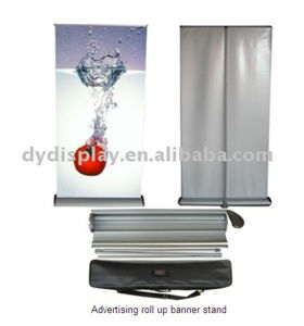 Advertising Easy Graphic Change Rollup Stand Aluminum Banner Stand (SR-09) pictures & photos