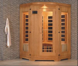 Solid Wood Infrared Sauna (AT-0927) pictures & photos