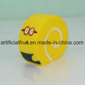 Slow Rebound PU Cake Yellow Foam Toys pictures & photos