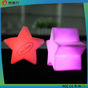Christmas Decoration Star Shape Wax LED Candle Light pictures & photos