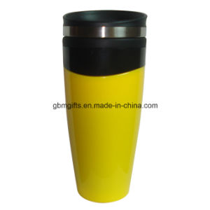 Promotion Double Car Cup, 301-400ml, Contracted Stainless Steel Sealing, Leak-Proof pictures & photos