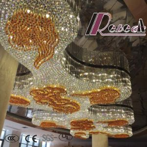 Good Quality Amber Modern Decorative Hotel Project Crystal Chandelier pictures & photos