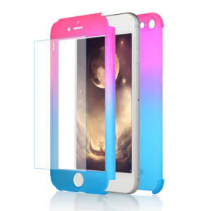 360 PC Back Cover Front PC Cover with Tempered Glass Phone Case for iPhone 7 Plus pictures & photos