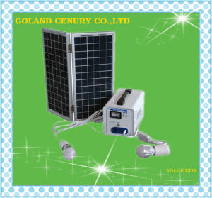 20W~1000W Mini portable DC Solar Home Lighting Power System with Panel pictures & photos