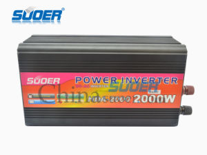 Suoer 2000W Solar Power Inverter DC 48V to AC 220V Power Inverter (HDA-2000F) pictures & photos