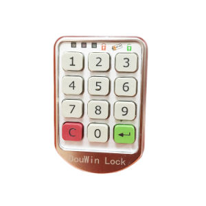 Electronic Steel Hidden Code Cabinet Lock From Douwin pictures & photos