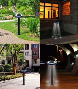 UFO Design Solar Garden Decoration Lawn Light Mushroom Garden Light for Sale pictures & photos