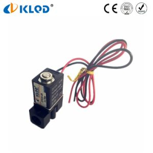 Mini Type Plastic Low Power Water Solenoid Valves in China pictures & photos