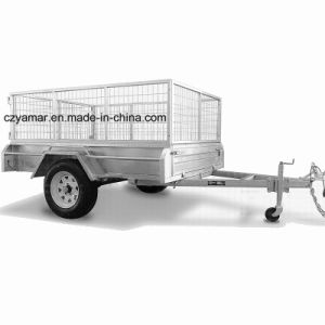 Hot Dipped Galvanised Cage Trailer pictures & photos