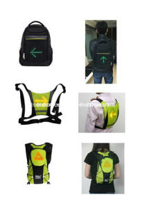 Bicycle LED Lamp Ride Backpack Bike LED Warning Light Backpack pictures & photos