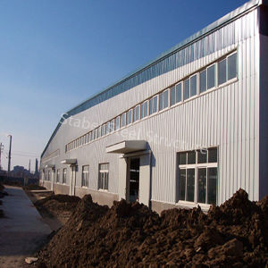 Portal Frame Light Steel Structure Warehouse Building with Best Plan pictures & photos