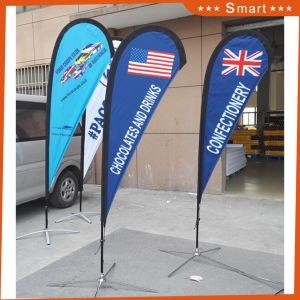 Colorful Advertising Beach Flag Swooper Flag Flying Banner pictures & photos