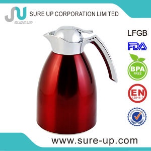 Stainless Steel Outer Body Glass Liner Coffee Pot, Thermal Insulated Carafe pictures & photos