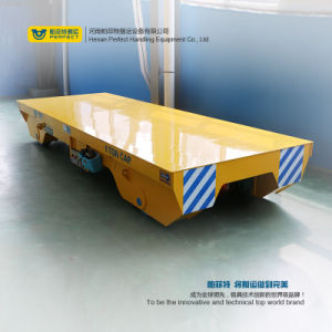 Busbar Powered Electric Transport Trailer with Low Platform (BHX-25T) pictures & photos