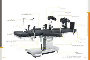 Medical Orthopedic Hydraulic Automatic Electric Ot Surgical Table pictures & photos