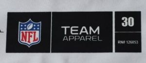Heat Transfer Stickers Brand Logo Size Care Labels for Garments pictures & photos